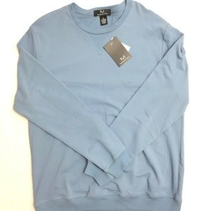 MAGASCHONI Blue Cotton Spandex Sweatshirt Medium